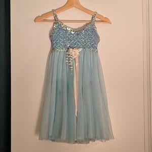 Girl's ballet costume